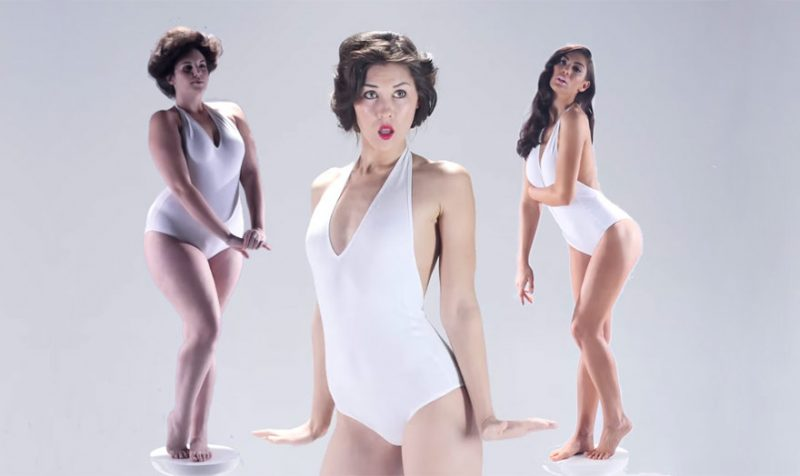 Standarde de frumusete feminina