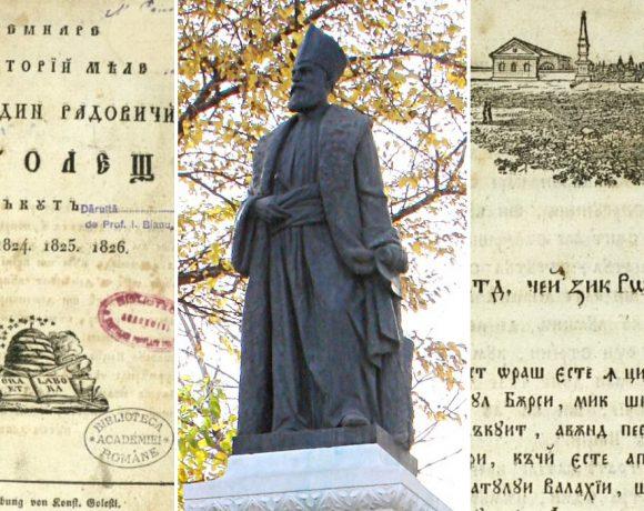 Peregrin, revoluționar și cărturar, boierul Golescu a fost