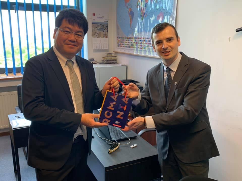 Șerban Georgescu, încercând să întărească relația dintre România și Japonia
