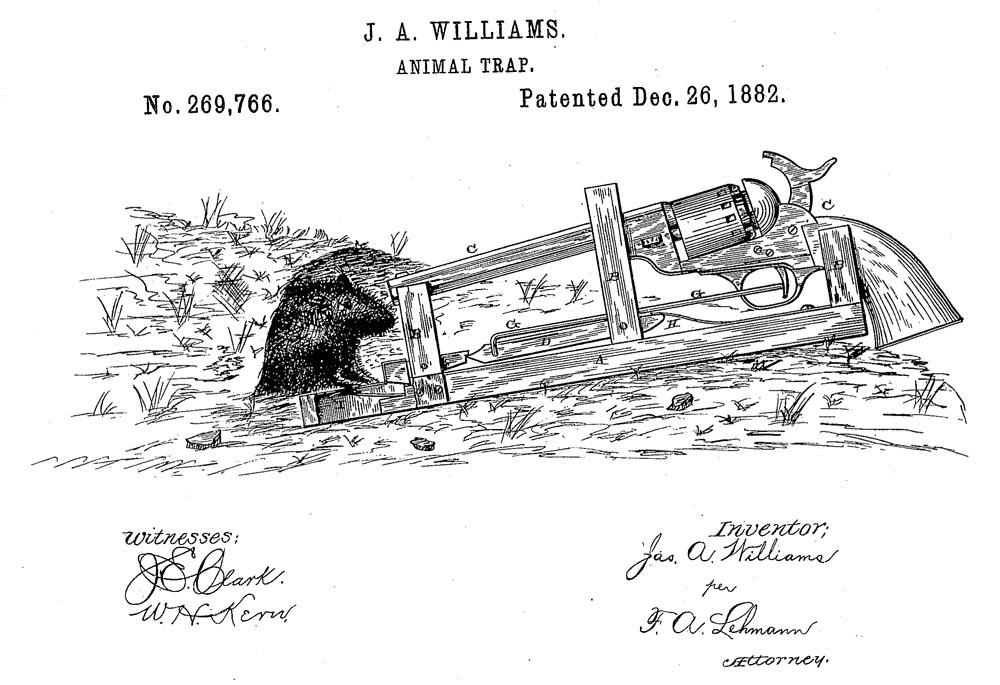 Cursa cu pistol de lichidat șoareci | Sursa: Patent Earth