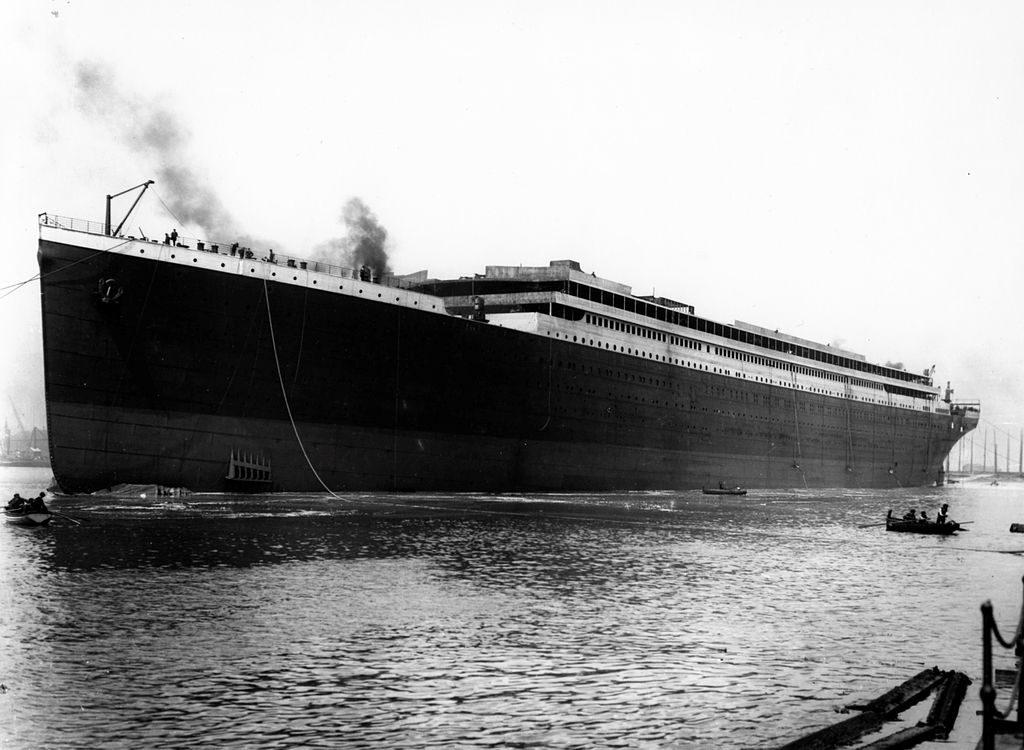 Lansarea la apă, 1911 | Sursa: Public domain, Wikiwand
