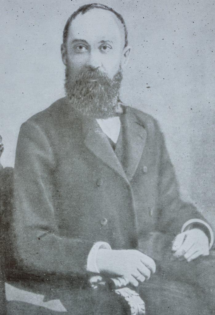 Nicolae Iorga, fotografie din 1905