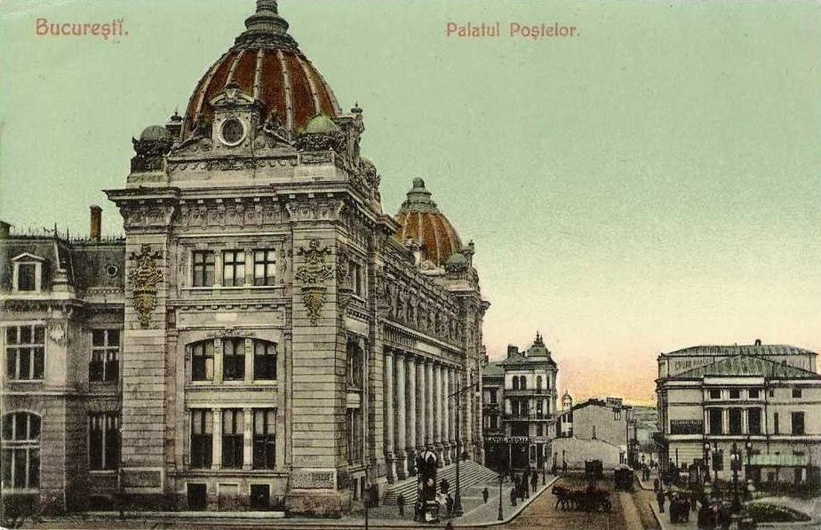 București, Palatul Poștelor, anii 1900