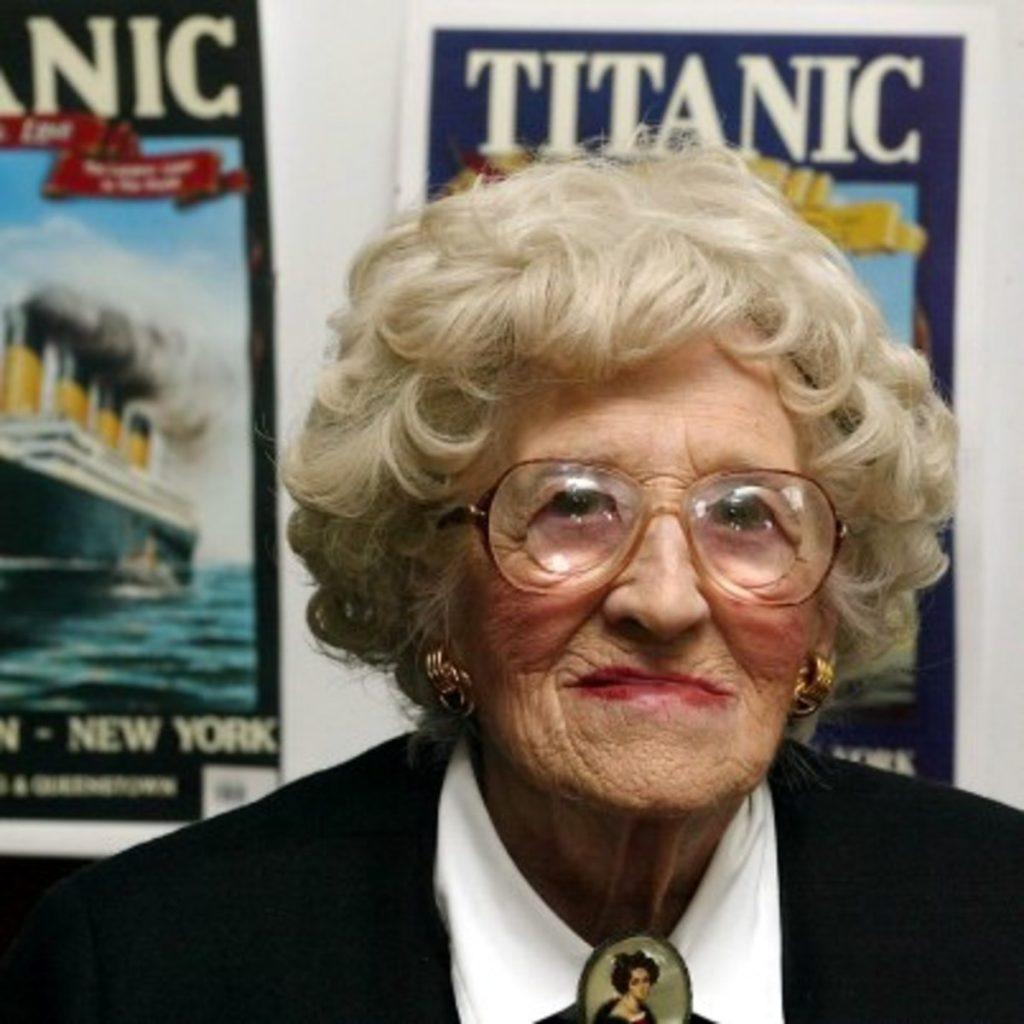 Millvina Dean a fost cel mai tânăr pasager de pe Titanic | Sursa foto: Biography.com