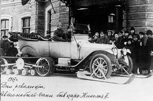 Extravagantul automobil al țarului Nicolae al II-lea al Rusiei | Sursa: Pinterest