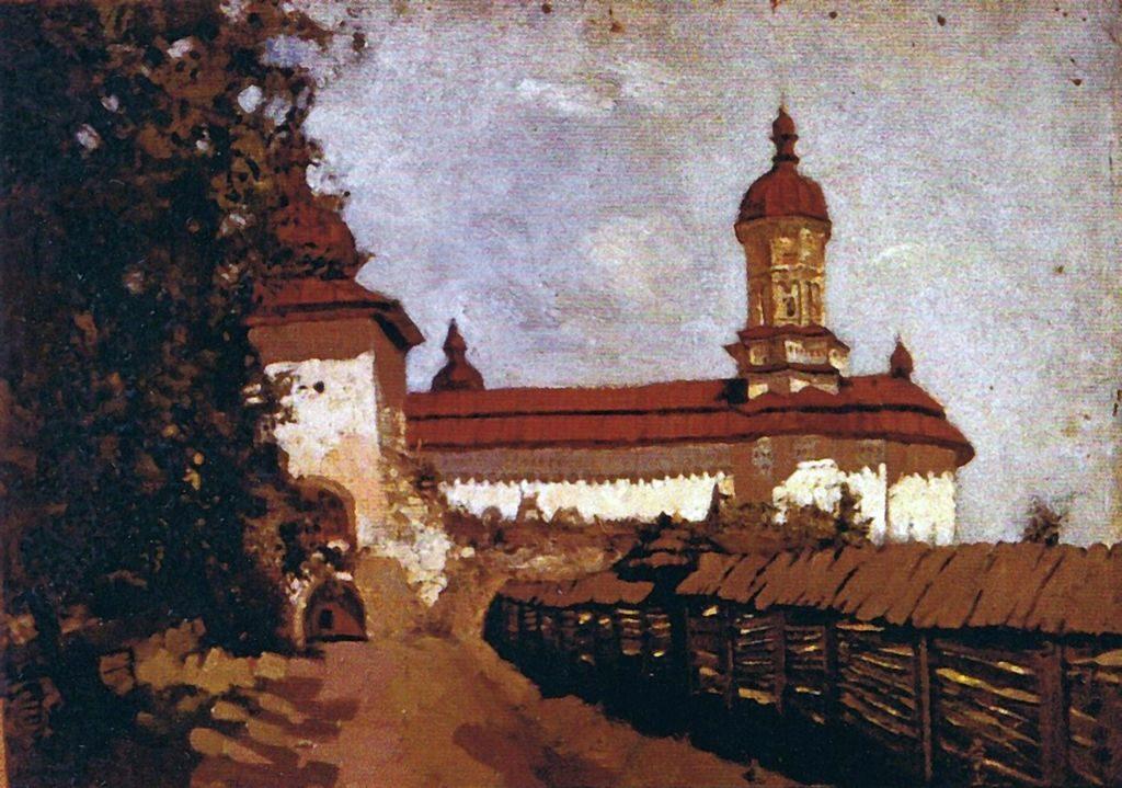 Mănăstirea Bistrița, pictură de Apcar Baltazar