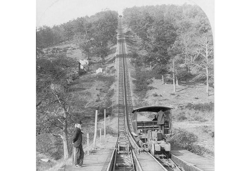 Mauch Chunk Switchback Railway | Sursa: PennLive