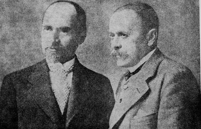 Ion Luca Caragiale și George Coșbuc