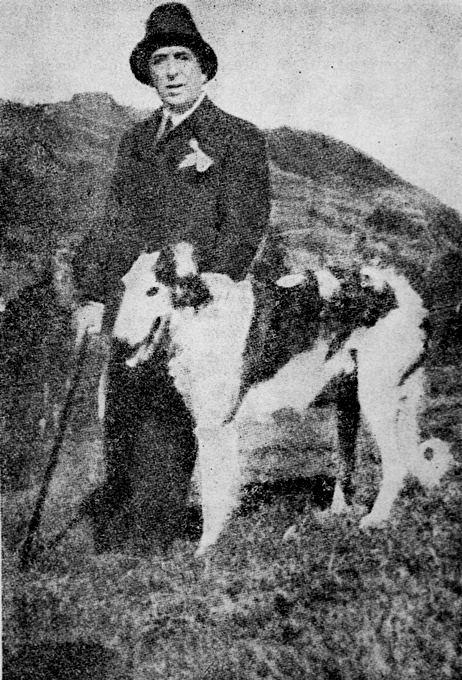 Octavian Goga la Ciucea, fotografie din 1937