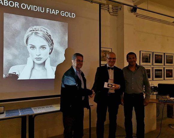 Ovidiu Gabor, premiat cu medalia FIAP GOLD