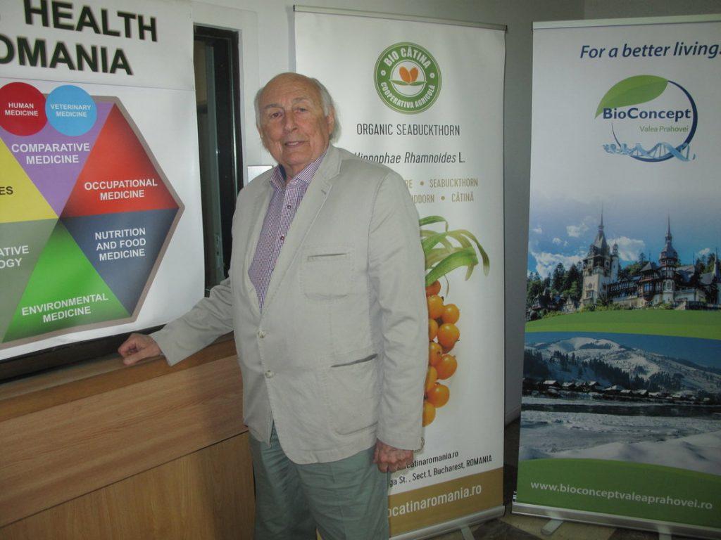 Acad. Nicolae M. Manolescu crede în știința medicală românească de nivel mondial