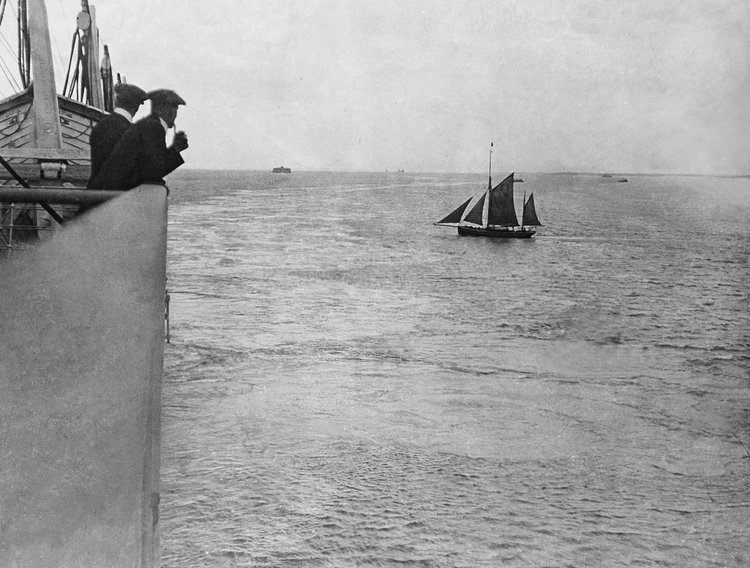 La Portsmouth, 10 aprilie 1912 | Foto: Francis Browne, Bridgeman Images