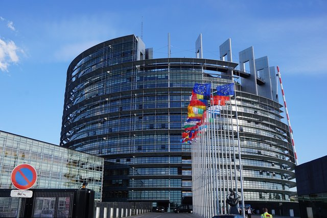 Sediul Parlamentul European de la Strasbourg| Credit: Moritz D., Sursa: Pixabay