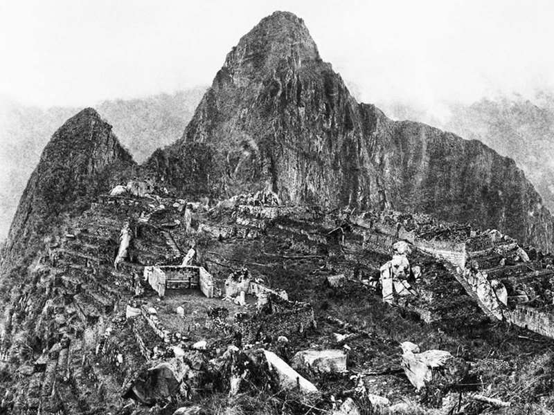 Prima fotografie de la descoperirea Machu Picchu, 1912 | Sursa: Rare Historical Photos