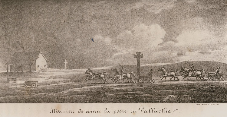 Poștalion în Valahia; Travelogues