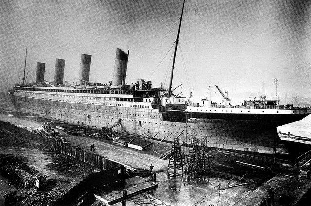 Din timpul construirii Titanicului | Sursa: Public domain, Wikiwand