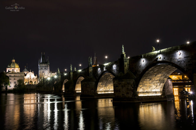 Praga. Karlovo Most. Foto: Ovidiu Gabor