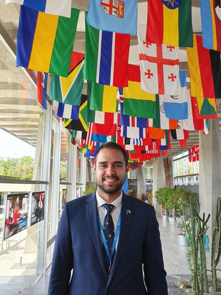 Teodor Cristian Blidaru la Adunarea Mondială a Sănătății