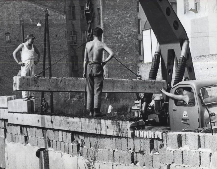 Zidul Berlinului, Germania 1961 | Sursa: All That's Interesting