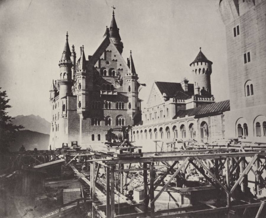 Castelul de poveste, Neuschwanstein, 1886 | Sursa: All That's Interesting