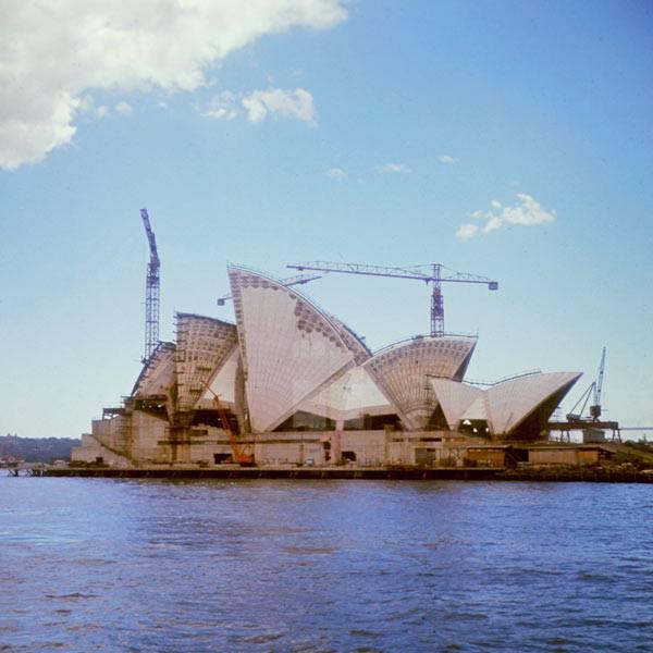 Opera din Sydney, Australia, 1966 | Sursa: All That's Interesting