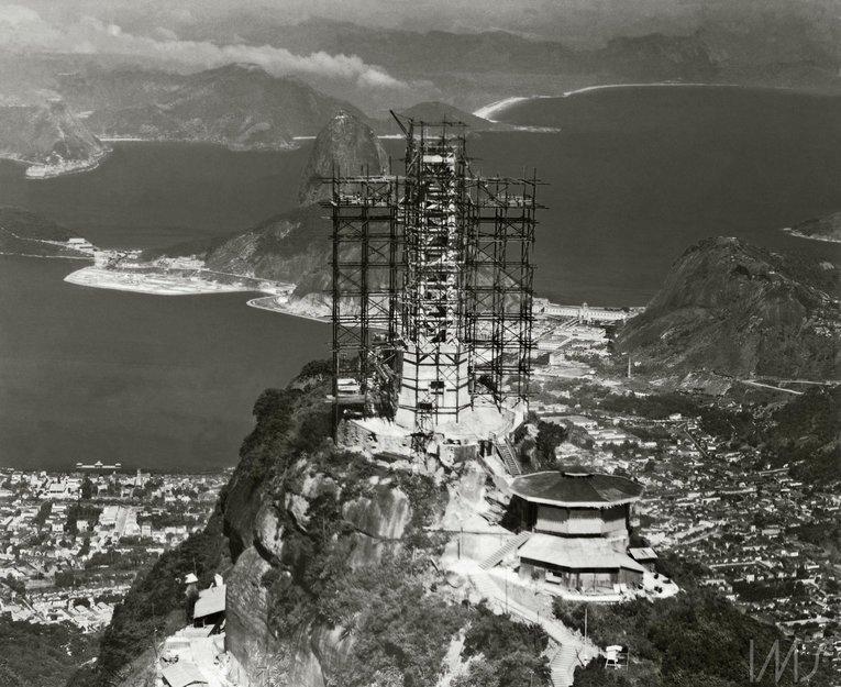 Cristos Mântuitorul, Rio de Janeiro, 1930 – 1931 | Sursa: Reddit