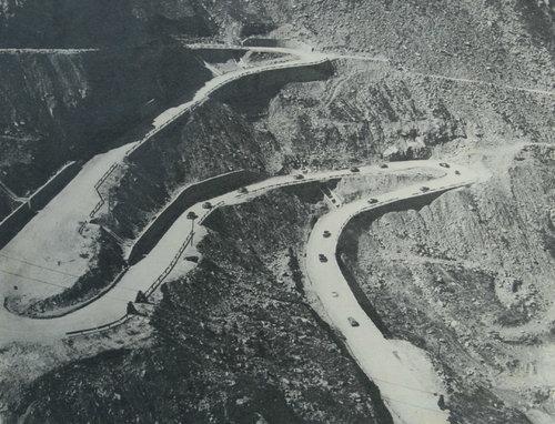Transfăgărășan în 1973 | Sursa: Wikimedia Commons