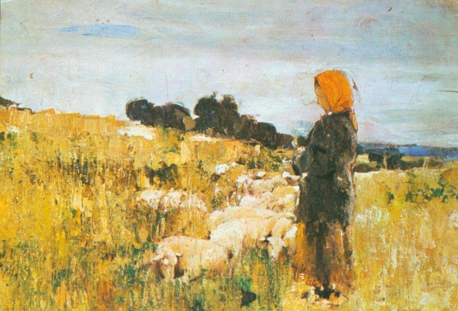 Păstorița, 1893; Sursa: Wikipedia