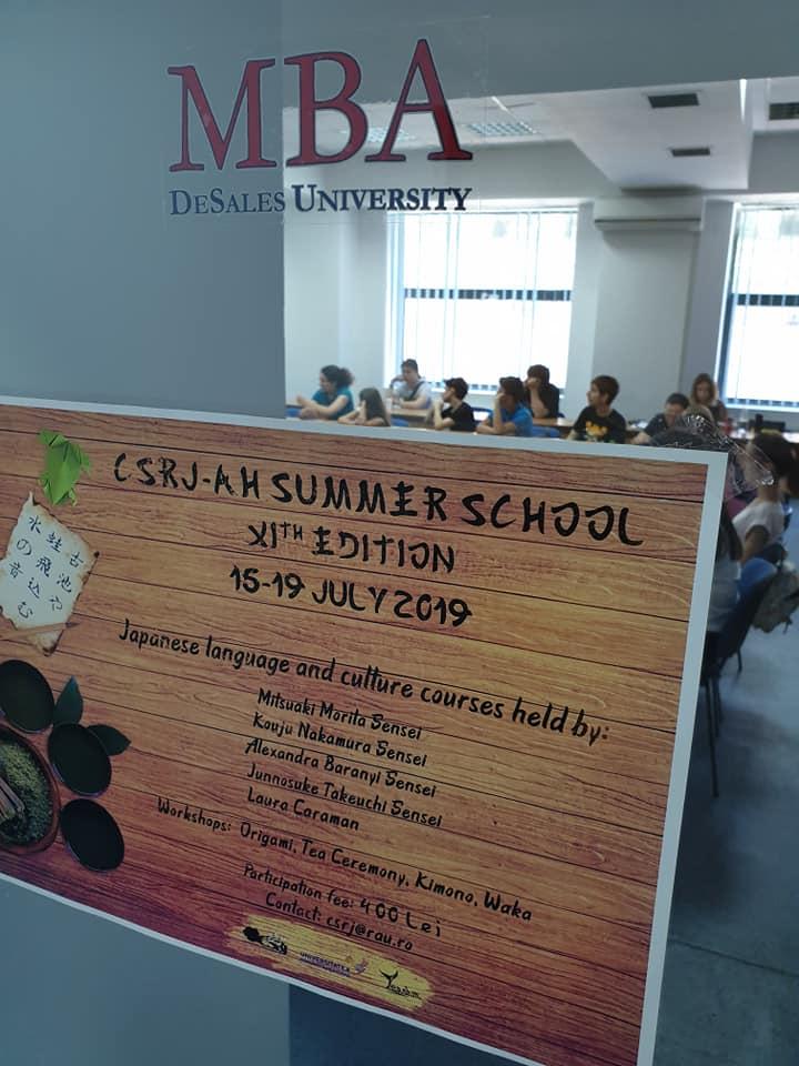 Școala de Vară CSRJ-AH