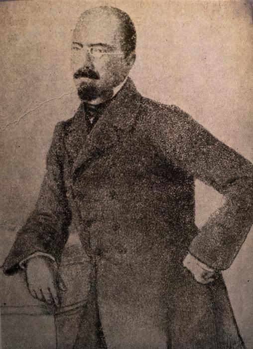 Mihail Kogalniceanu. Portret din Dacia literară, 1859