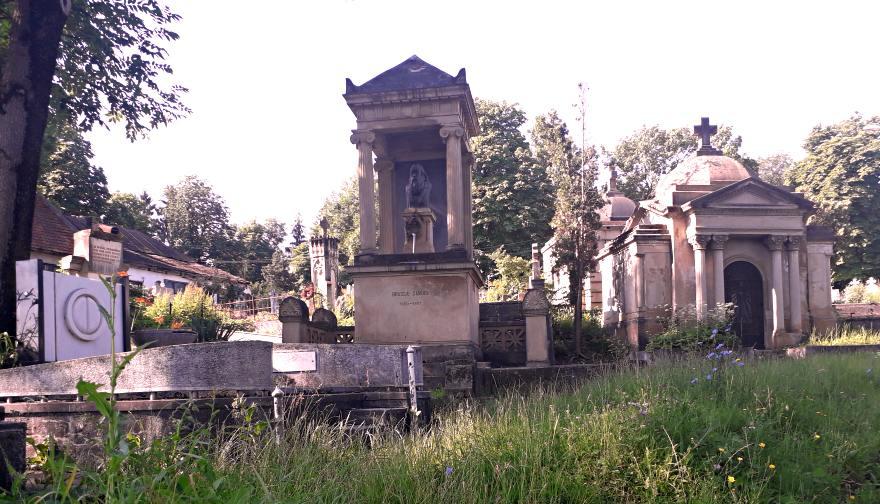Cimitirul Central Cluj Napoca. Monumentul lui Sámuel Brassai; Credit foto: Mira Kaliani