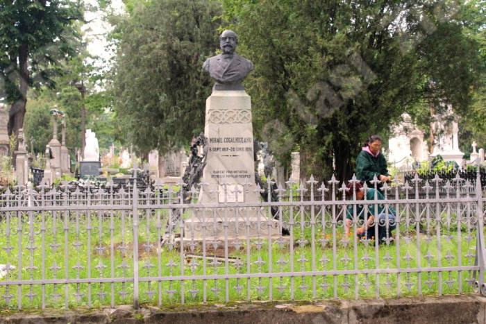 Mormântul din cimitirul Eternitatea, Iași; Sursa: Ziarul de Iași