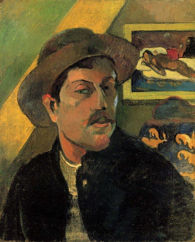 Paul Gauguin, autoportret   Sursa: Wikimedia Commons