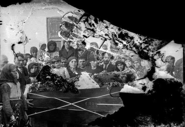 Înmormântare, 1938| Fotografie: Costică Acsinte