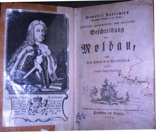 Prima ediție tipărită în limba germană, 1771 | Sursa: Carte rară