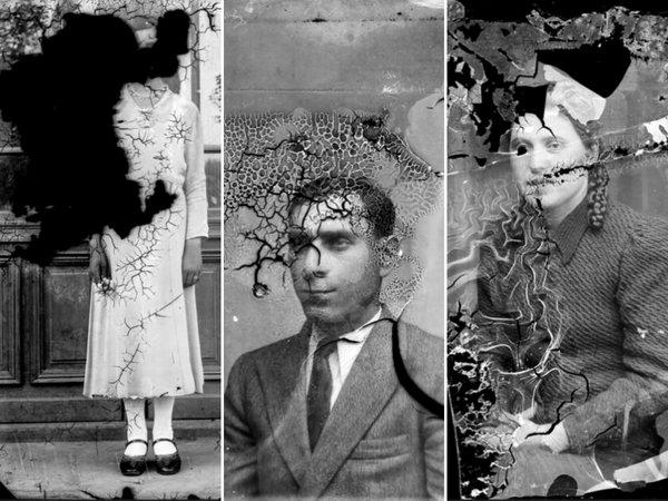 Timpul și timpurile s-au jucat pe aceste plăci cu portrete și au creat efecte surprinzăoare | Fotografii: Costică Acsinte