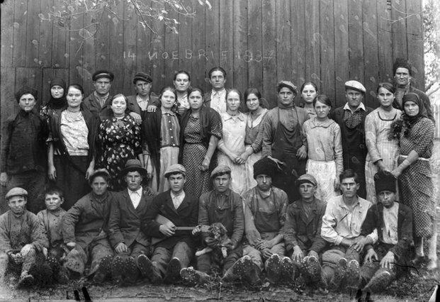 Grup, 14 noiembrie 1937 | Fotografie: Costică Acsinte