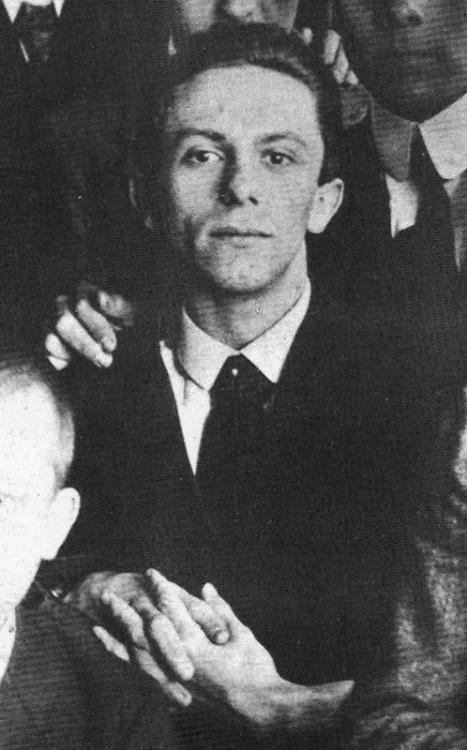 Joseph Goebbels în 1916   Sursa: Wikipedia, Public Domain