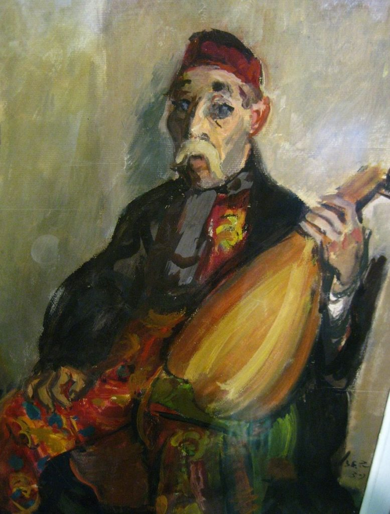 Barbu Lăutarul, pictură de Iosif Iser | Pinterest