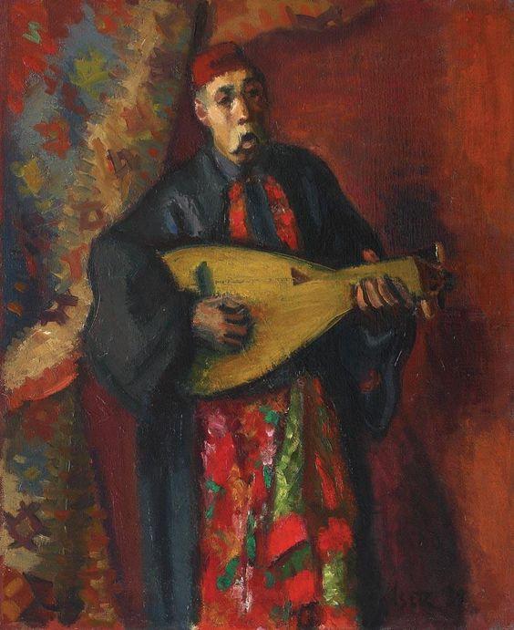 Barbu Lăutarul, pictură de Iosif Iser | Artnet