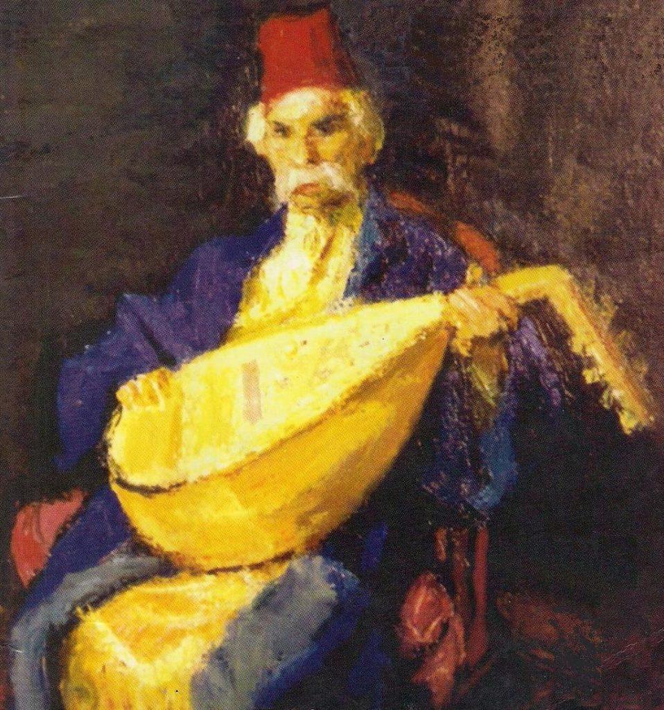 Barbu Lăutarul, pictură de Ștefan Luchian | Wikipedia, domeniu public
