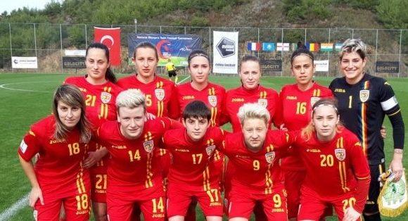 fotbal feminin u13 romania