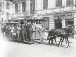 În București | Fotografie: Iosif Berman; Arhivă: Muzeul Țăranului Român