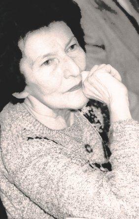 Zoe Dumitrescu-Bușulenga, imagine preluată din volumul Credințe, mărturisiri, învățăminte