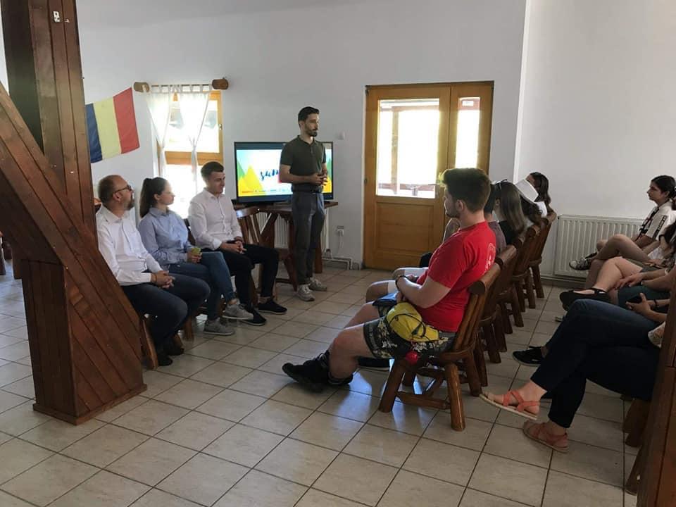Robert Stredie la SummerCamp, eveniment organizat de Liga Studenților Români din Străinătate