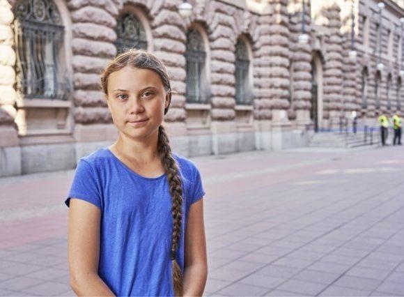 Greta Thunberg. Sursă: nieuwsblad