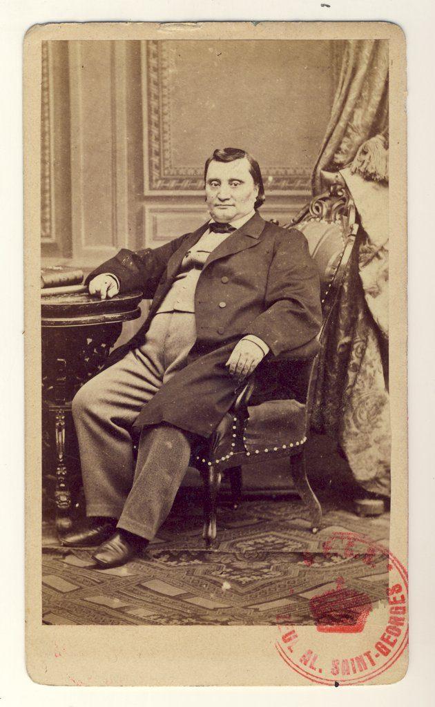 Matei Millo | Fotografie de Károly Szathmári, 1864 | Sursa World Digital Library