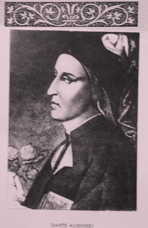 Dante, Ilustrație din Divina Comedie, Infernul, Editura de Stat pentru Literatură și Artă, 1954