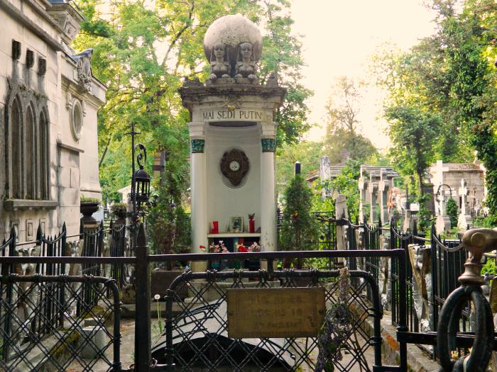 Templul Iulia Hasdeu de la cimitirul Bellu din București | Credit foto: Mira Kaliani
