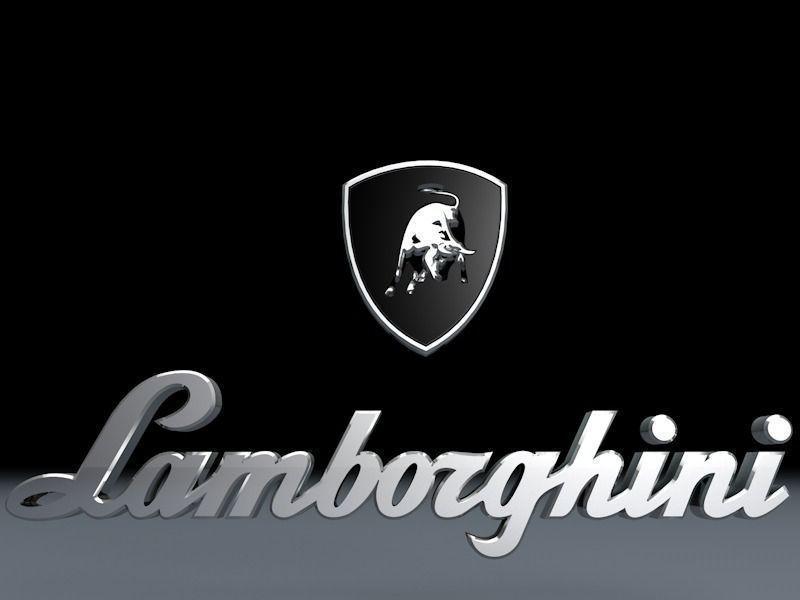 Logo Lamborghini | Sursa: CGTrader